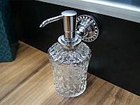 Дозатор для жидкого мыла KUGU Swan 414C Хром, фото 1
