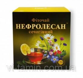 Фиточай Нефролесан мочегонный, 20 пакетов по 1500 мг