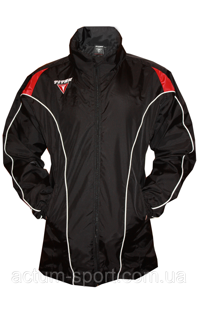 Ветровка с капюшоном Ultra Titar черная