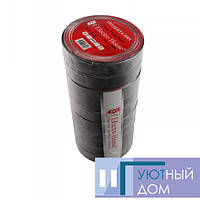 Изолента черная 0,15мм х 18мм х 50м