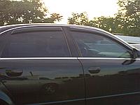 Дефлекторы окон (ветровики) Audi A4 B6 (ауди а4 б6) 2000-2004