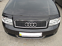 Дефлектор капота (мухобойка) Audi A4 B6, 8E (ауди а4 б6, 8е) 2000-2004