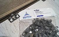 Кляммер UNIONmet (клипса) для монтажа террасной доски