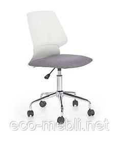 Дитяче поворотне крісло Skate biało-popiel Halmar