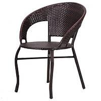 Кресло «Catalina» коричневый ротанг , фото 1