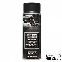 FOSCO PAINT SPRAY ARMY PAINT BLACK 400 ML.