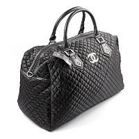 Сумка дорожная текстильная женская черная 5340, фото 1