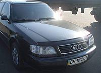 Дефлектор капота (мухобойка) Audi 100 (45 кузов C4) (ауди с4 1990-1994)