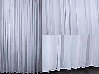 Тюль шифоновая, белая, фото 1