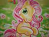 """Детское постельное белье """"Моя любимая пони"""" ранфорс Турция, фото 2"""