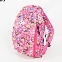 Рюкзак для сменки  для девочек - розовый - 5344