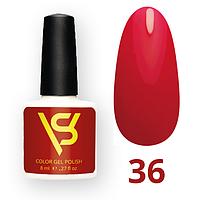 Гель лак для ногтей SV 8 мл № 036