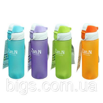 Спортивные бутылки с носиком 500 мл Дзен ( бутылка для воды )