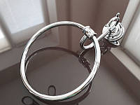 Кольцо для полотенца KUGU Versace 204C Хром, фото 1