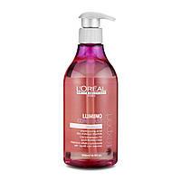Loreal Lumino Contrast Shampoo шампунь-сияние для мелированных волос, 500 мл