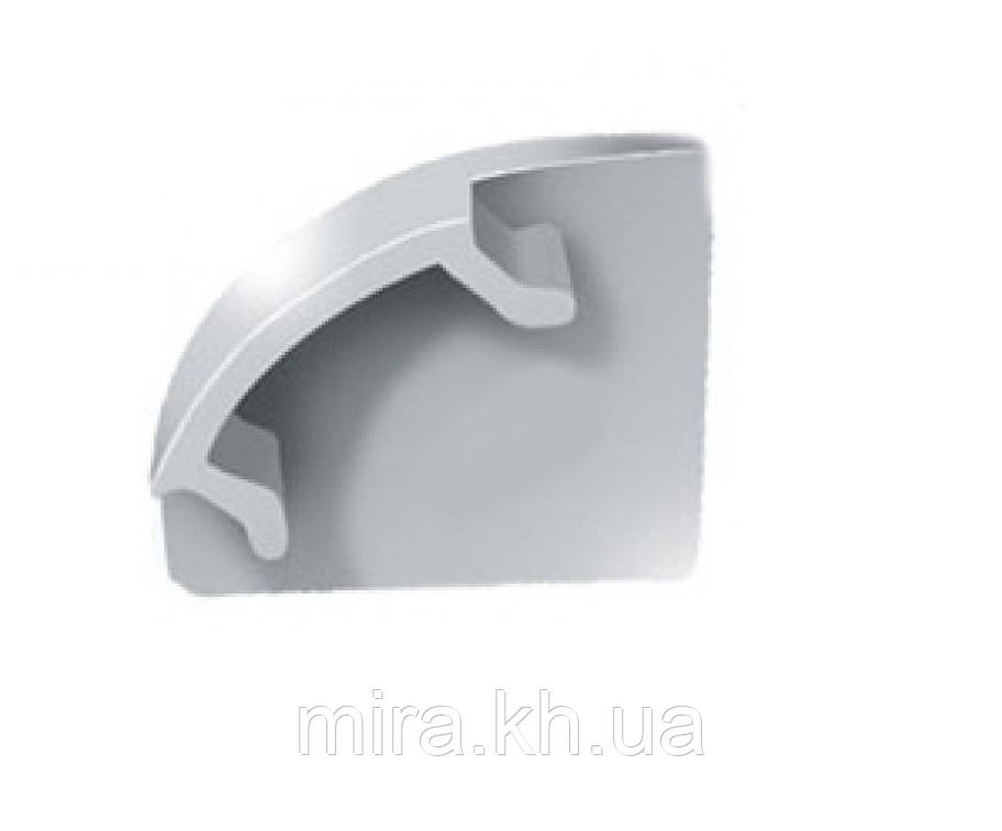 Заглушка BIOM для углового профиля ПУ17 17х17мм