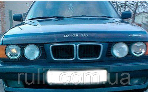 BMW 5 Дефлектор капота мухобойка на для BMW БМВ 5 серии (34 кузов) 1988-1996