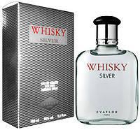 Туалетная вода мужская Whisky Silver M 100ml Evaflor