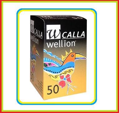 Тест полоски Wellion Calla Light - mini 50 шт.