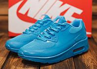Кроссовки женские Nike Air Max 10726 найк аир макс голубые синие