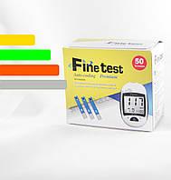 Тест-полоски Finetest Premium #50 - Файнтест Премиум