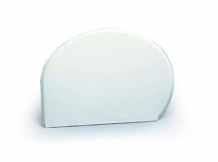 Скребок кондитерский 15х11 см. мягкий, пластиковый Martellato