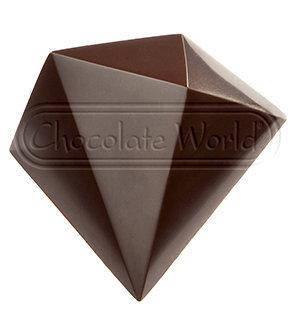 "Форма для шоколада ""Давид Комашы-Хрусталь"" 43x40 мм. из поликарбоната Chocolate World"