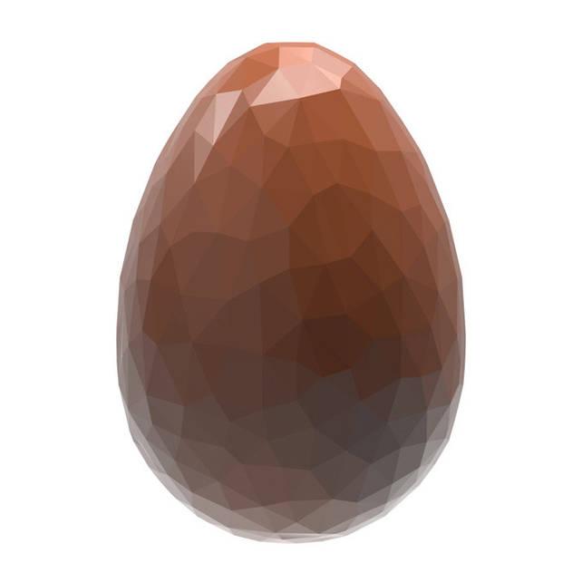"""Форма для шоколада """"Яйцо Мозаика"""" 33x23x11 мм., 24 шт., 5,5 гр. из поликарбоната Chocolate World"""