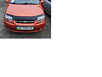 Дефлектор капота (мухобойка) Chevrolet aveo T200 (шевроле авео т200) 2002-2008