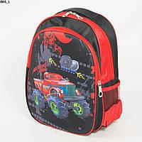 Школьный рюкзак для мальчика с жесткой спинкой - чёрный - BN5