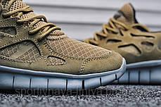 Мужские кроссовки Nike Free Run Brown (Найк Фри Ран  (Реплика Топ качества ), фото 3