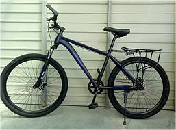 Спортивный велосипед TopRider 26 дюймов модель 700 цвет синий