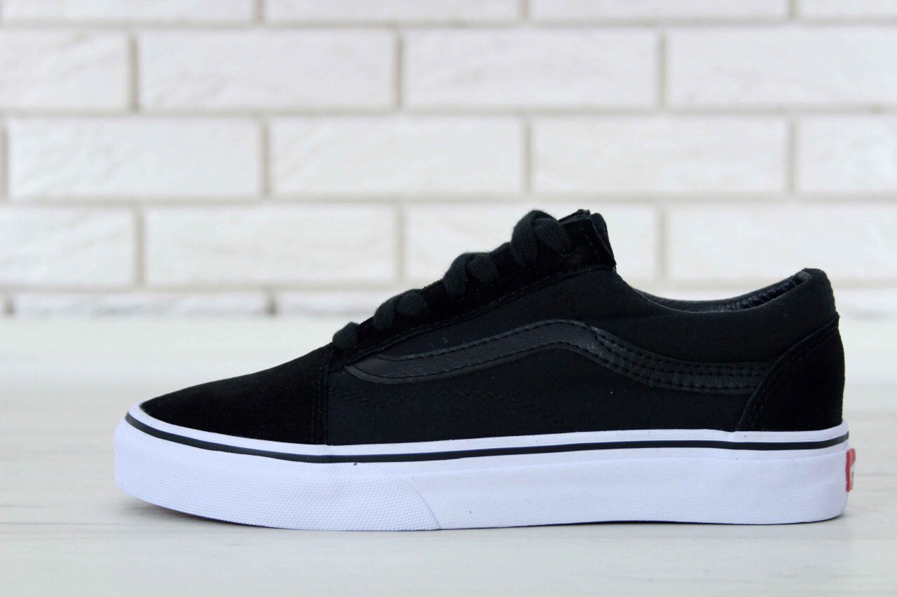 132832ac80ea Кеды Vans Old Skool Black White — в Категории