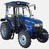 Трактор ДТЗ 5504К (50 л.с.,4 цил., 4х4, ГУР,16+8, 8,30-20/14,90-24, кабина с отопл.,4 гидровыхода)