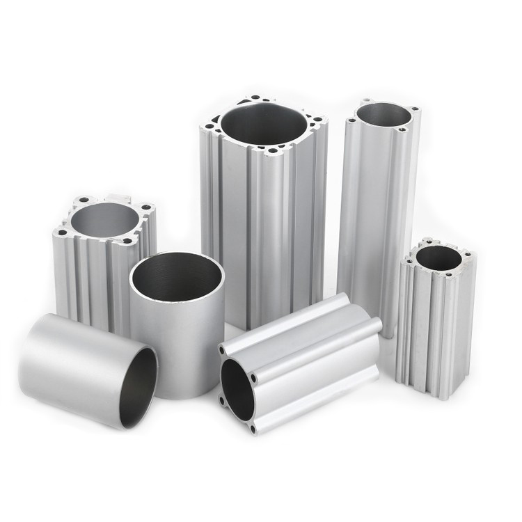 Алюминиевая труба профильная, бесшовная, хонингованная по внутр. диаметру, Ф80