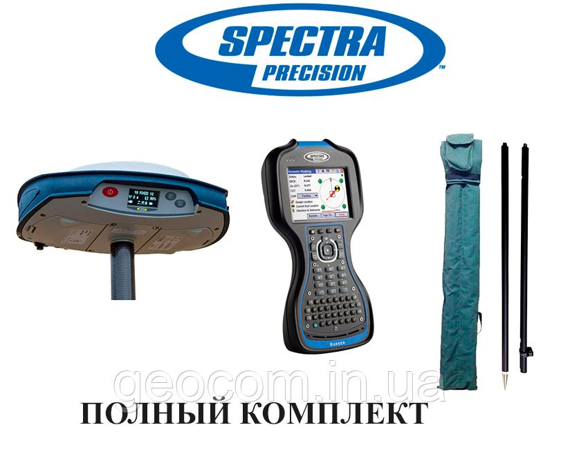 GNSS RTK приемник Spectra Precision  SP 80 + контроллер Ranger 3 + ПО Survey Pro GNSS