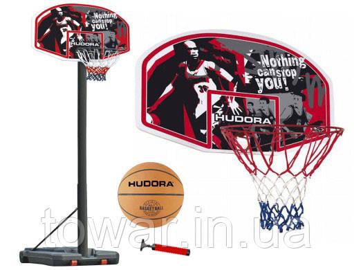 Баскетбольное кольцо HUDORA CHICAGO 2,6 м + мяч