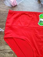 Женские трусики больших размеров / цвет красный / размер 4XL, фото 2