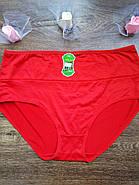 Женские трусики больших размеров / цвет красный / размер 4XL, фото 3