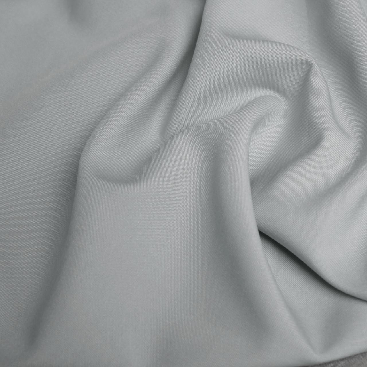 Костюмная ткань габардин светло-серый