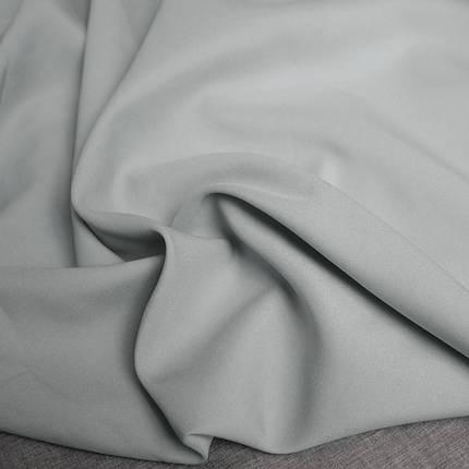Костюмная ткань габардин светло-серый, фото 2