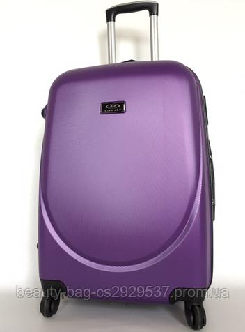 Чемодан пластиковый маленького размера Wings 310 1472 Mini фиолетовый