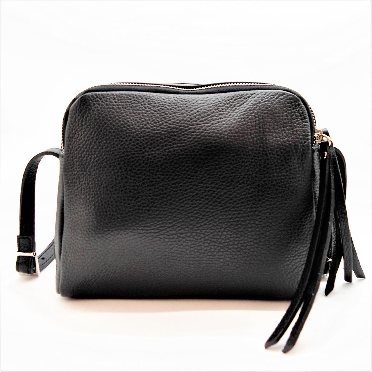 e01a6c1ad704 Женская кожаная сумочка в руку DBN-034080 Италия: купить недорого