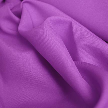 Костюмная ткань габардин сиреневый, фото 2