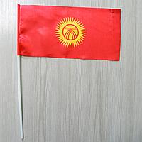 "Флажок ""Киргизия"" / ""Республика Кыргызстан"" | Флажки СНГ | Флажки Азии |"