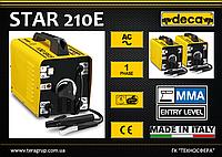 Сварочный аппарат - трансформатор 220В, 40-160А., DECA STAR 210E
