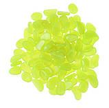 Светящиеся лимонные камни в аквариум - в наборе 10шт. (размер одного камня 1,5-2,5см), фото 2
