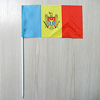 "Флажок ""Молдова"" с гербом | Флажки СНГ |  Флажки Европы |"
