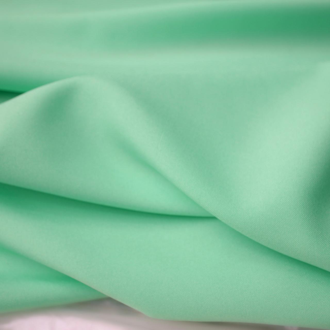 Ткань габардин мята