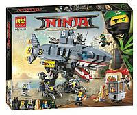 Конструктор Bela 10799 Ninjago Movie ниндзяго муви Морской дьявол Гармадона 872 детали (аналог лего 70656)